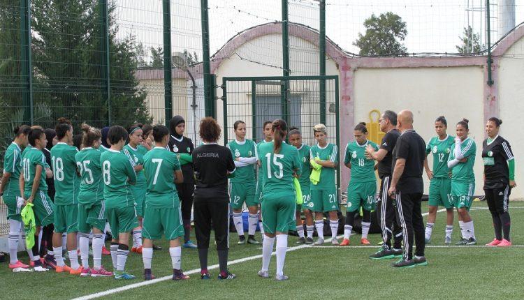 CAN 2018 (DAMES) : FIN DU STAGE POUR L' ÉQUIPE NATIONALE FÉMININE (VIDÉO)