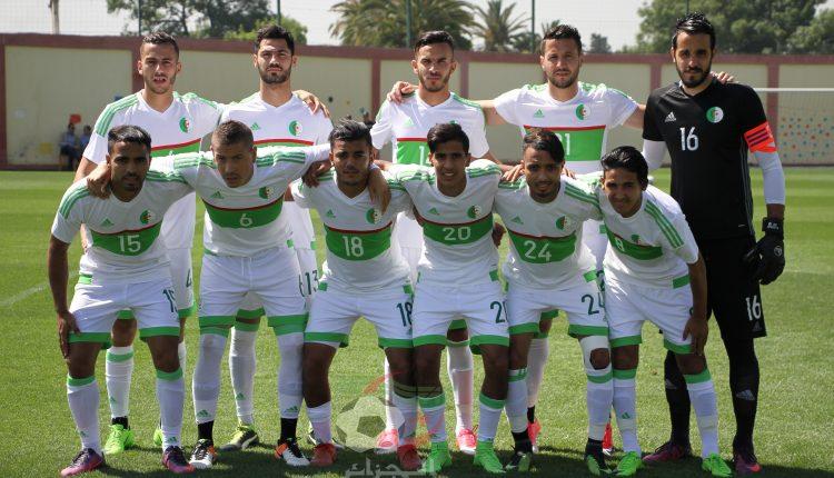 Les Algériens en blanc, les Libyens en rouge