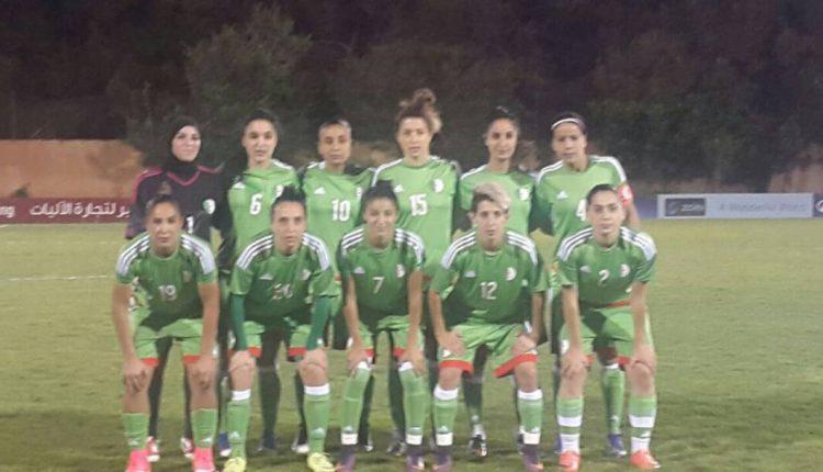 EQUIPE NATIONALE FEMININE : JORDANIE 0 – ALGERIE 1
