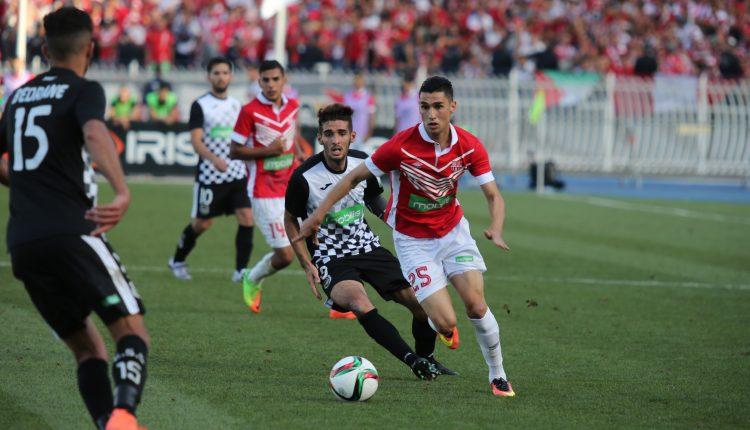 FINALE COUPE D'ALGERIE ES SETIF 0-0 CR BELOUIZDAD (MI-TEMPS)