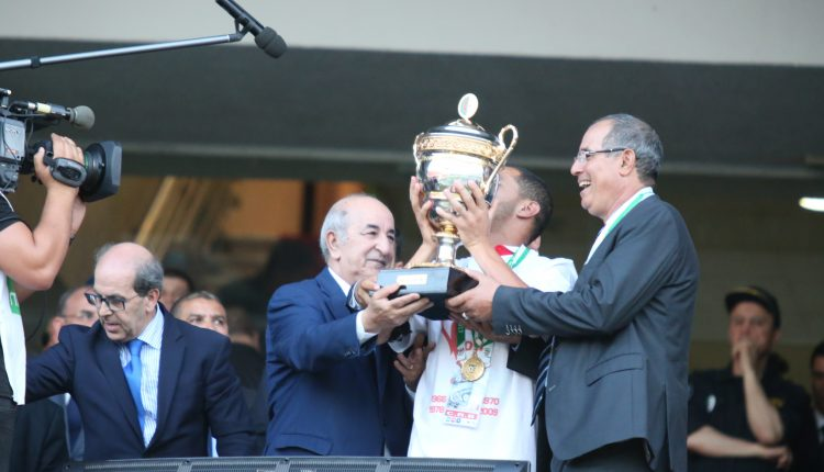 FINALE COUPE D'ALGERIE LE  CR BELOUIZDAD REMPORTE SA 7E COUPE