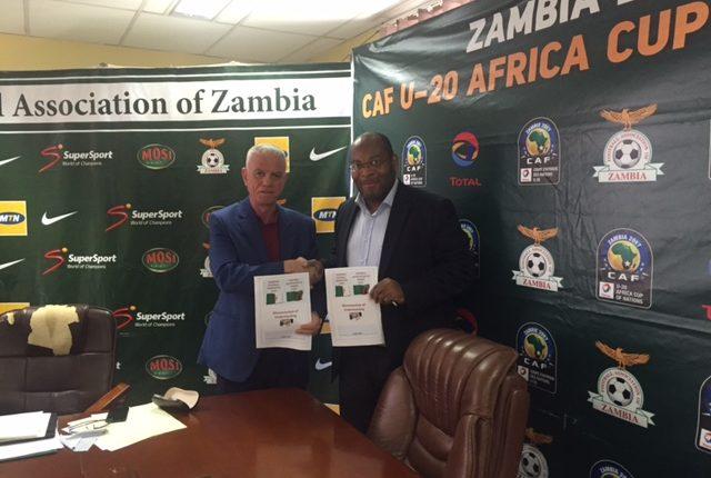 La FAF signe un protocole d'accord avec la fédération zambienne