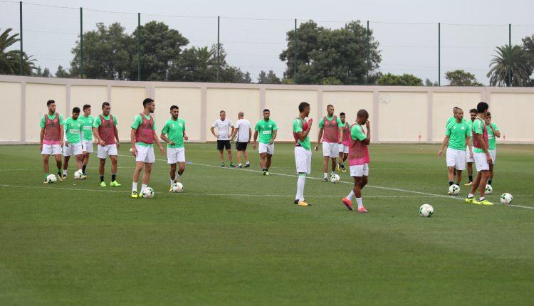 زامبيا – الجزائر : المنتخب الوطني يواصل تحضيراته بسيدي موسى
