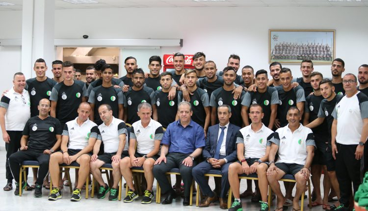 M. Ould Ali a diné avec la sélection des locaux