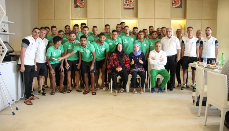 أبطال أولمبيّون يزورون المنتخب الجزائري