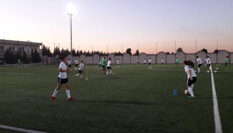 لجنة كرة القدم النسوية : بيان