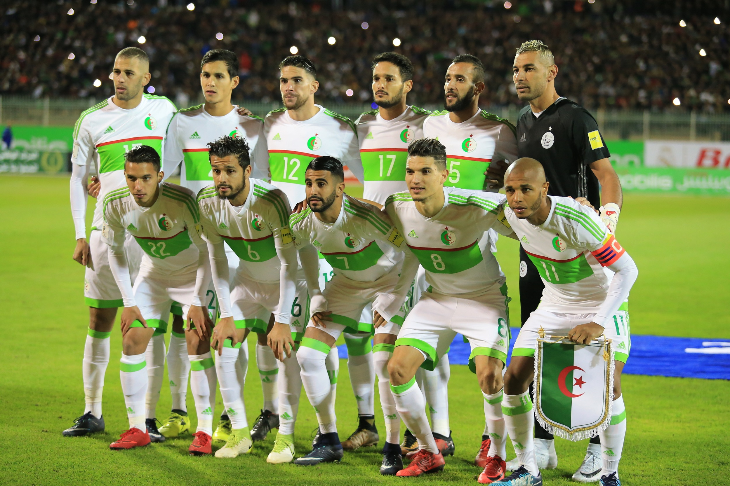 الجزائر وغامبيا بث مباشر