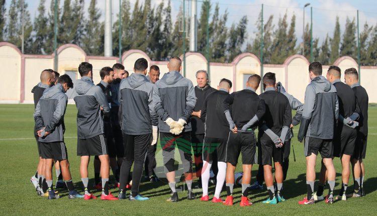 المنتخب الوطني يواصل تربصه التحضيري بـ15 لاعبا