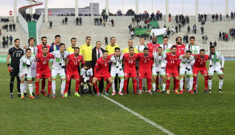 مباراة ودية  : الجزائر (  د21 سنة )  / فلسطين (1/0)