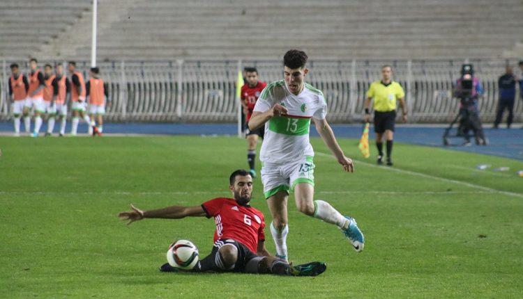 مباراة ودية ( أقل من 21 سنة ) : الجزائر 1 – مصر 2