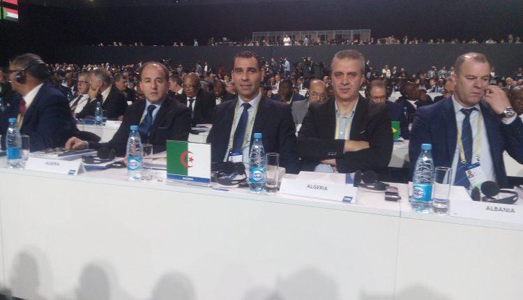 LA DÉLÉGATIONDE LA FAF AU CONGRES DE LA FIFA