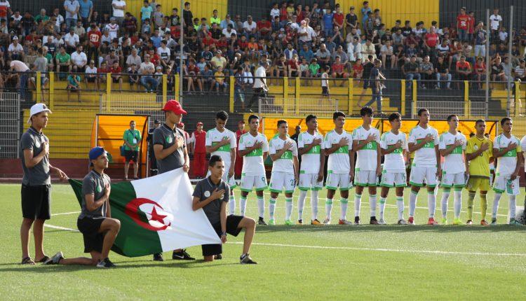 TOURNOI DE FOOTBALL DES 3E JAJ/ STADE DU 20 AOÛT  MATCH DE CLASSEMENT: ALGERIE- CAMEROUN 15H30  FINALE: NIGERIA-MAROC 18h00