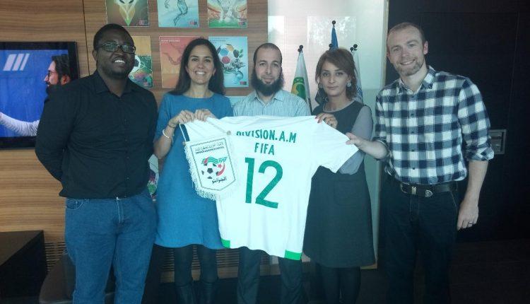 UNE DELEGATION DE LA FAF EN SEANCE DE TRAVAIL A LA FIFA