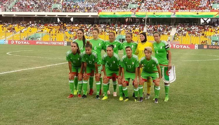 CAN FEMININE : EN MATCH D'OUVERTURE, LE GHANA, PAYS ORGANISATEUR S'IMPOSE 1-0 DEVANT L'ALGERIE