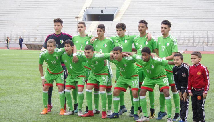 TOURNOI UNAF U15 (3EME JOURNEE) : ALGERIE 1- LIBYE 0