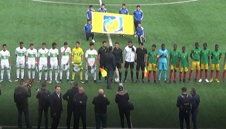 TOURNOI UNAF U15 (1ER JOURNEE) : ALGERIE 5 MAURITANIE 0