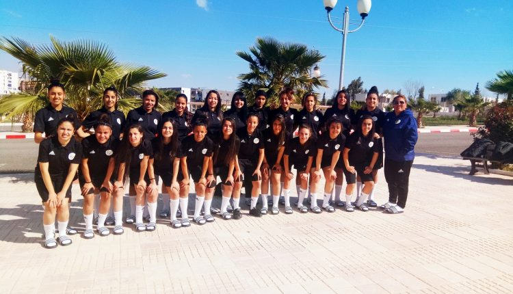 LA SELECTION FEMININE U20 EN STAGE A ALGER