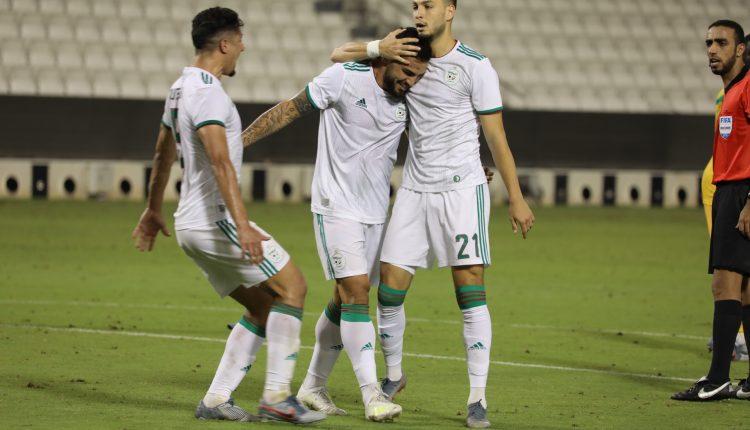الجزائر تفوز وديا على مالي ( 3-2)