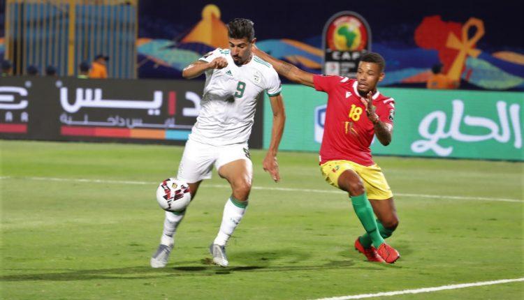 CAN TOTAL 2019(HUITIEMES DE FINALE) :ALGERIE – GUINEE (3 A 0)