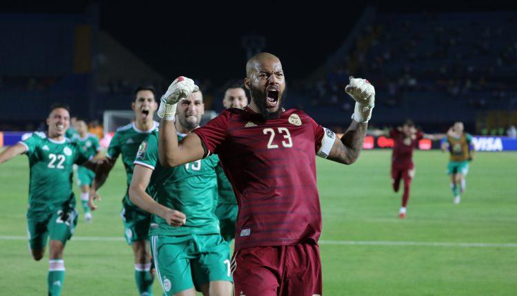 كأس إفريقيا 2019 : الجزائر إلى النصف نهائي
