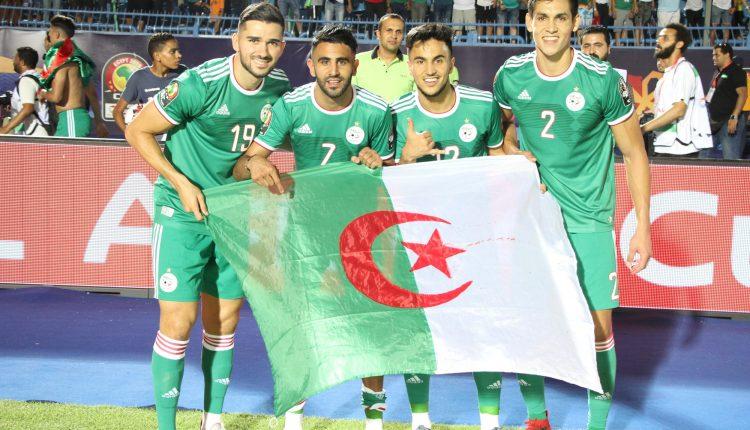 الجزائر – البنين ( ودي) : الجزائر بالزي الأخضر