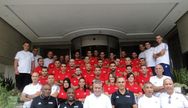 """إنطلاق أشغال دورة """"MA FIFA 2019"""" لفائدة حكام النخبة بالجزائر"""