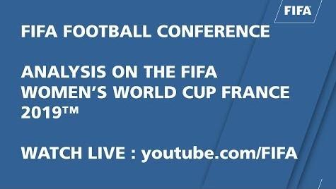 AMEUR CHAFIK ET RADIA FERTOUL A LA CONFRENCE FIFA SUR LA COUPE DU MONDE FEMININE