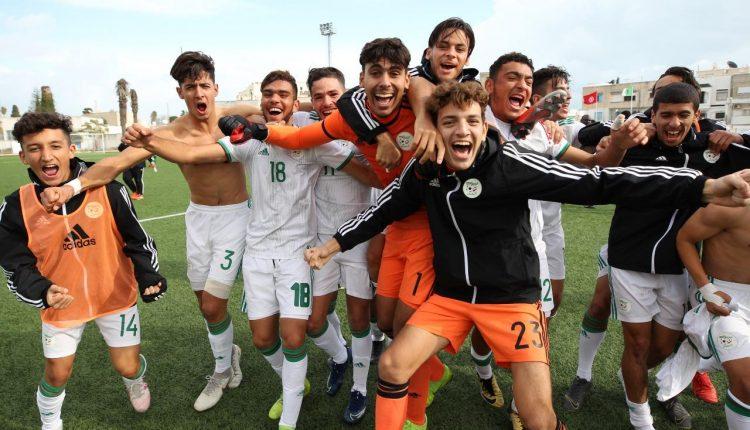 TOURNOI DE L'UNAF DES U20 EN TUNISIE :  L'ALGERIE, A UNE VICTOIRE DU SACRE