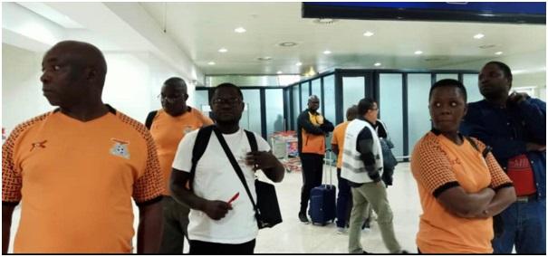 LES ZAMBIENS DEPUIS HIER A ALGER