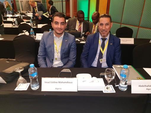 LA FAF A LA FORMATION DES OFFICIERS DE LA SECURITE ET DE LA SURETE DE LA CAF