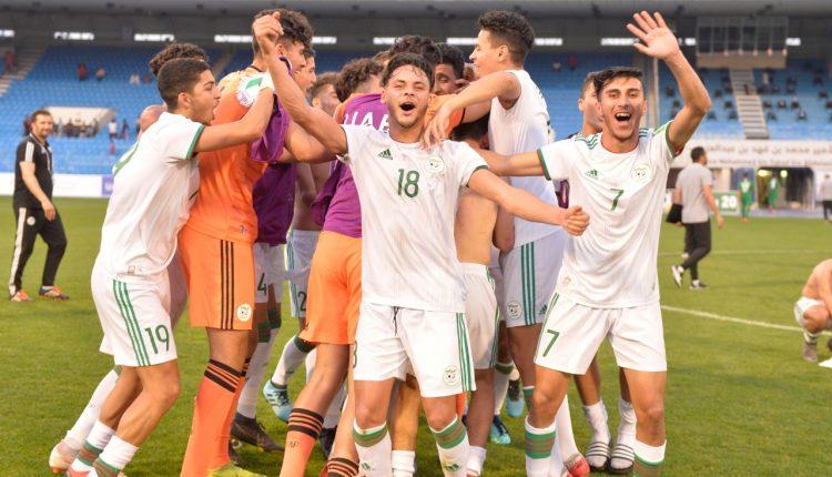COUPE ARABE DES NATIONS U20 – UAFA 2020: LES ALGERIENS BATTENT LES SAOUDIENS ET PASSENT EN QUARTS DE FINALE