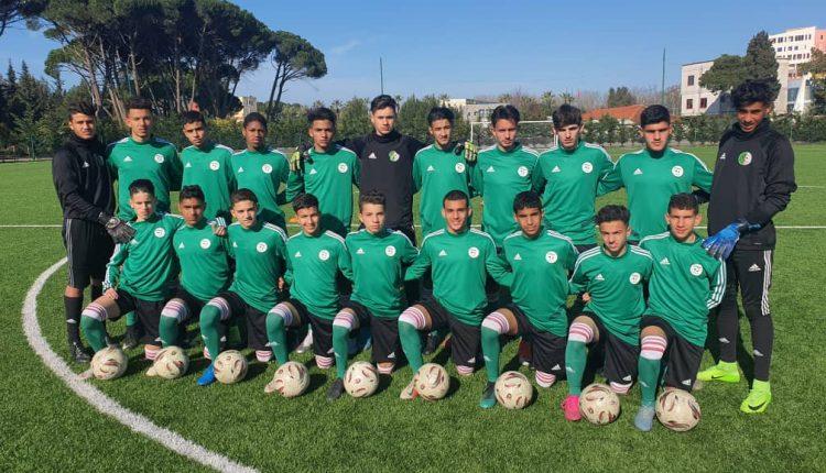 TOUNOI UEFA ASSIST U16 – TIRANA: COURTE DEFAITE DES ALGERIENS FACE A LA GEORGIE