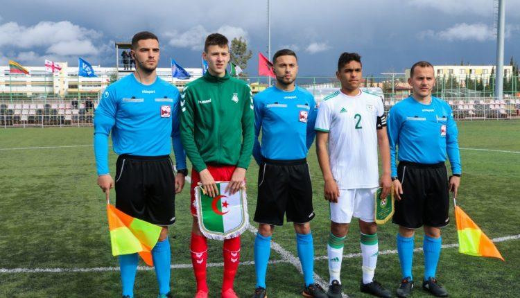 TOUNOI UEFA ASSIST U16 – TIRANA : LES ALGERIENS DOMINENT LA LITUANIE
