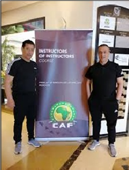CAF / COVID-19:  REUNION DES INSTRUCTEURS ELITES AFRICAINS