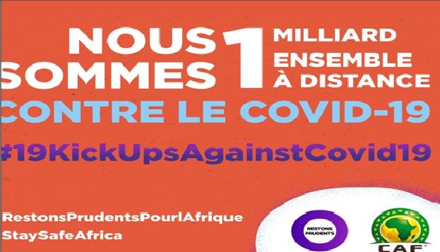 COVID-19 : LES STARS AFRICAINES DU FOOTBALL S'ENGAGENT POUR LA CAMPAGNE ''RESTONS PRUDENTS POUR L'AFRIQUE''