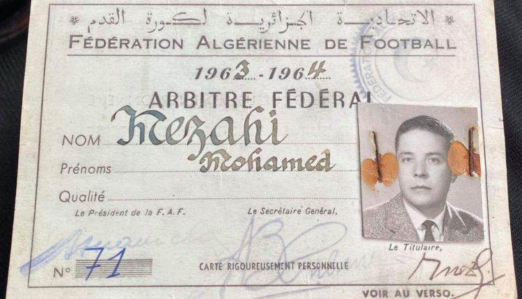 ARBITRAGE :  HOMMAGE A MOHAMED MEZAHI DE CONSTANTINE