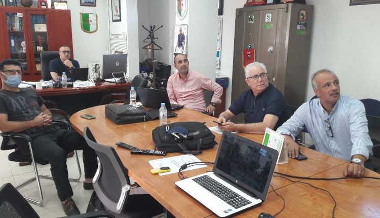 """المديرية الفنية الوطنية تتابع حفل إطلاق مشروع """"المعاهد التكنولوجية لكرة القدم AFA"""""""