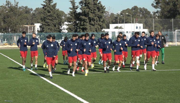 TOURNOI UNAF U20 :  ENTRAINEMENT DANS LA BONNE HUMEUR SANS BEKKOUCHE ET HAMIDI