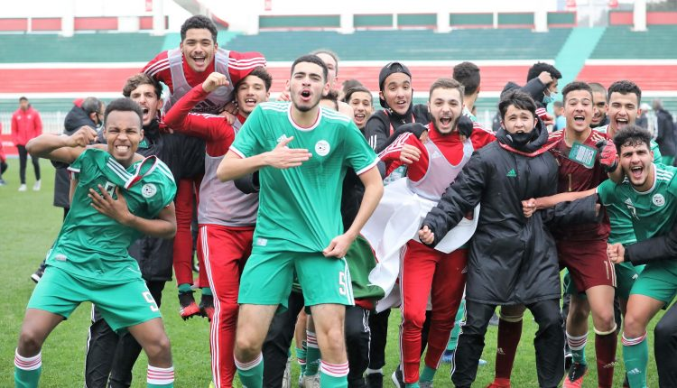 TOURNOI UNAF U17 – MAROC TOTAL 2021 : ALGERIE – TUNISIE (1 à 1), LES VERTS DECROCHENT UNE QUALIFICATION HISTORIQUE