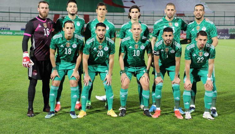 تصفيات مونديال قطر 2022 : مباراة الجزائر- جيبوتي يوم 5 جوان 2021 بملعب تشاكر