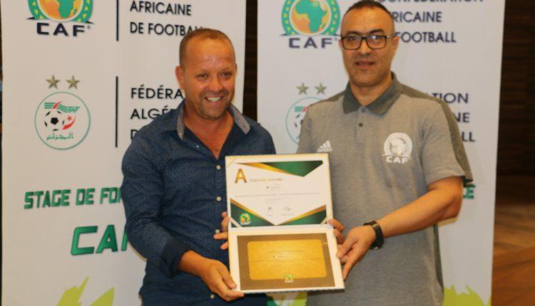 LICENCE CAF A :  LES PREMIERS LAUREATS DU NOUVEAU SYSTEME CAF COACHING